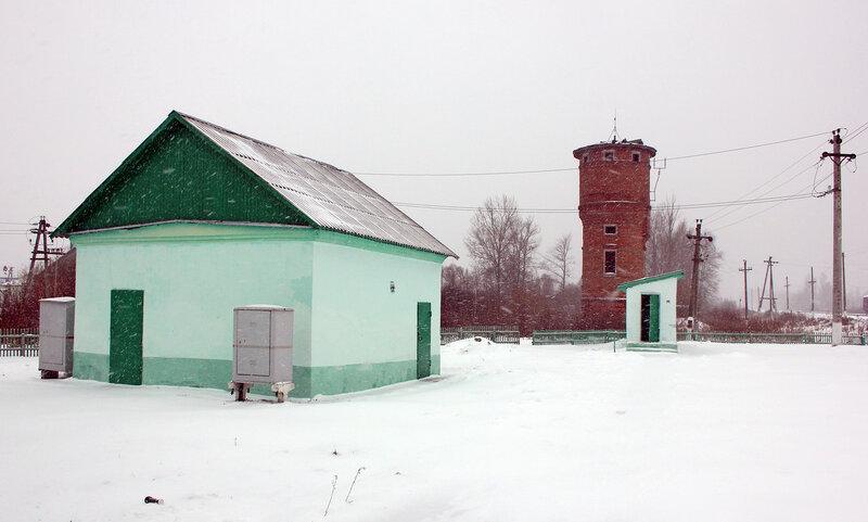 Туалет на станции Новодугинская