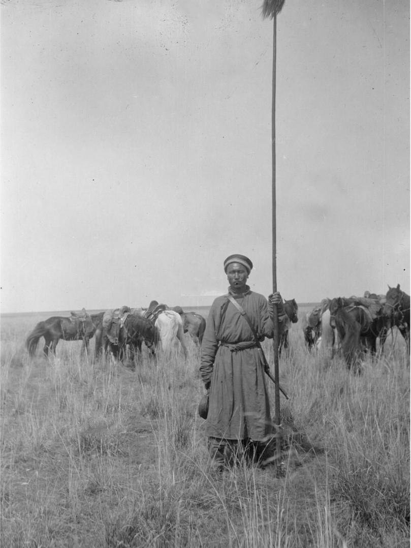 Калмык в лагере Маннергейма