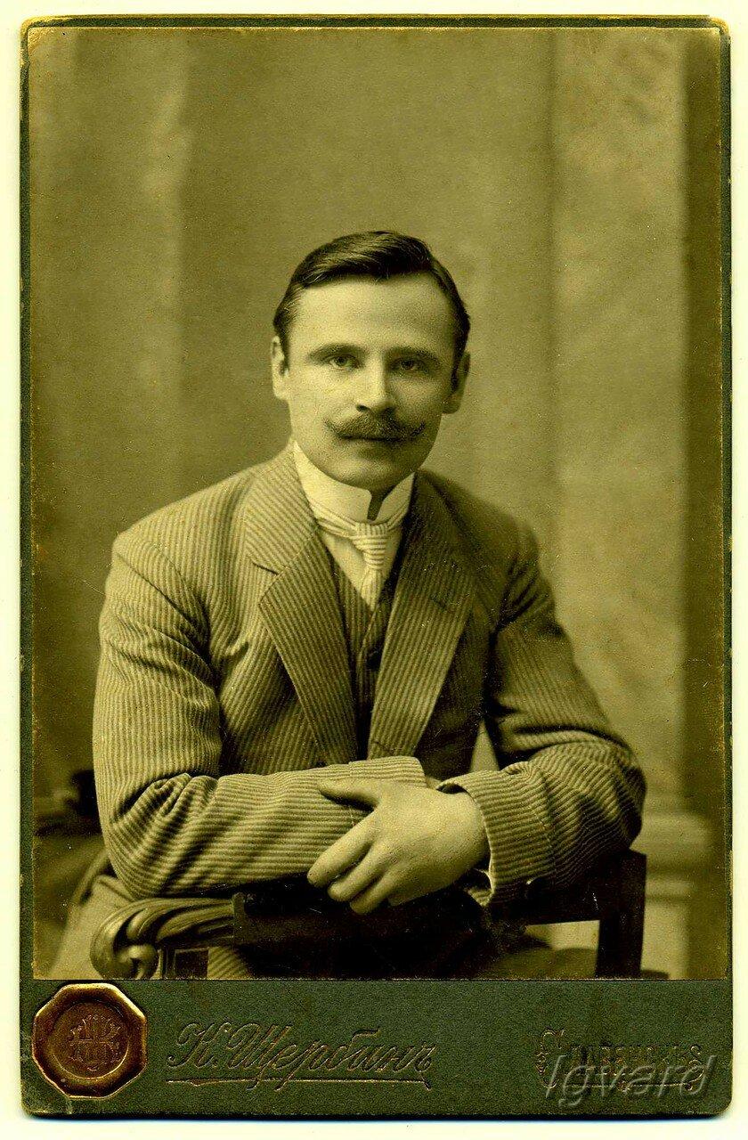 Иосиф Лукич Олейников, купец. 1910