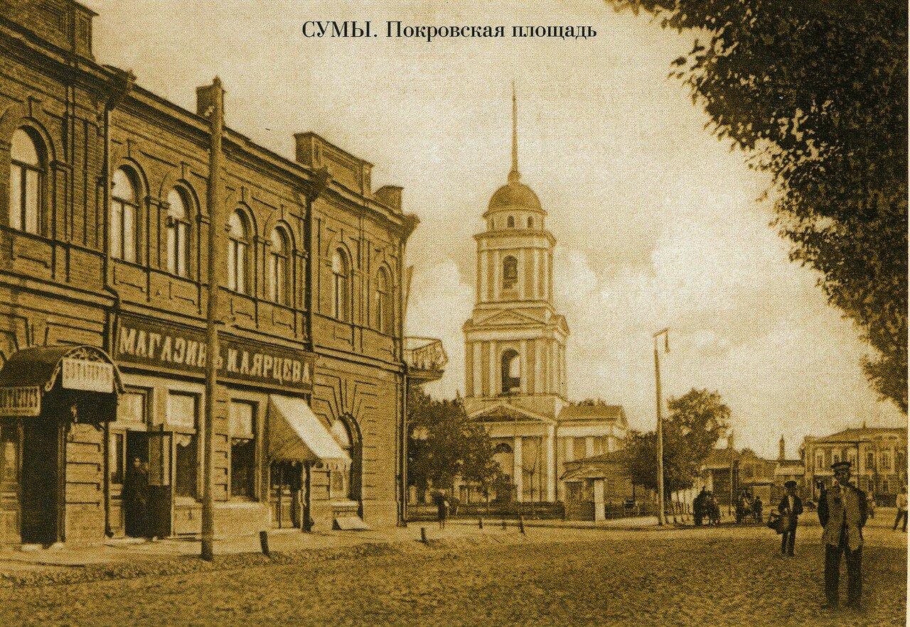 Покровская церковь. Колокольня Введенского храма