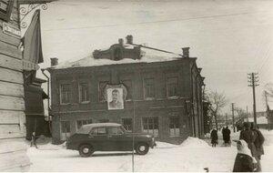Череповец. В день объявления о смерти Сталина