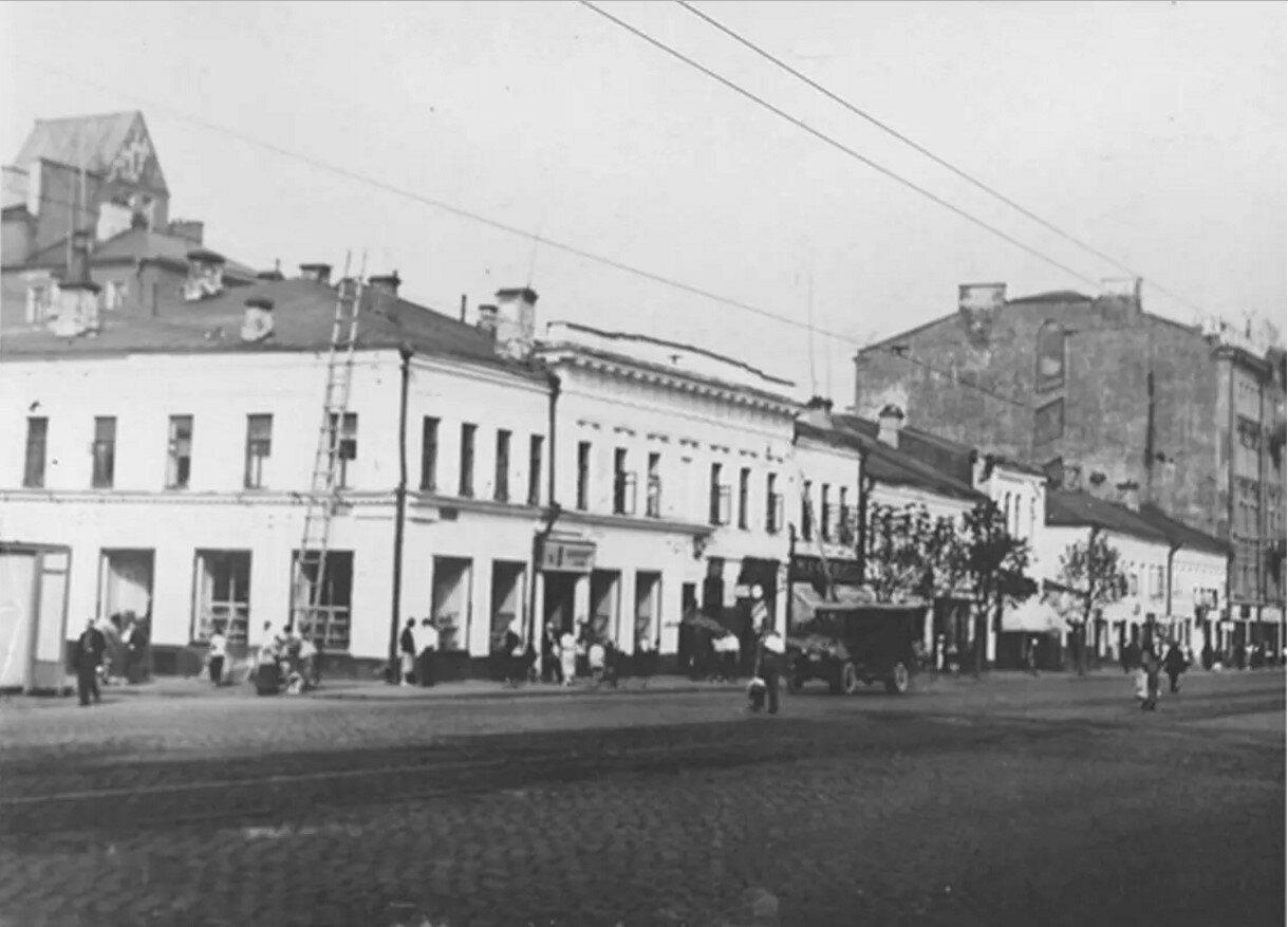 1930-е. Тверская-Ямская