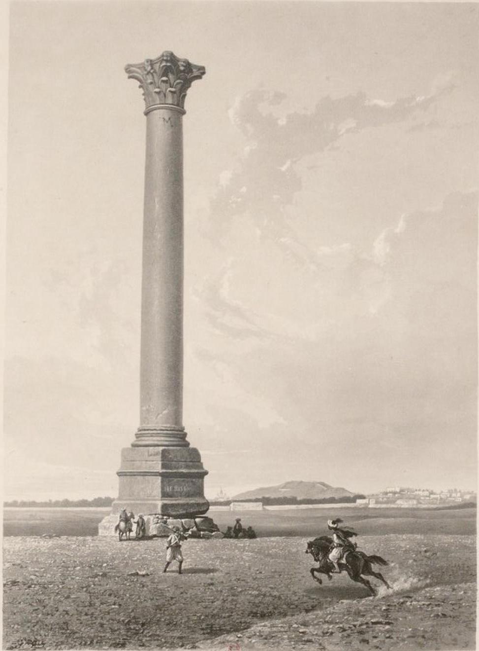 Египет. Александрия. Колонна Помпея