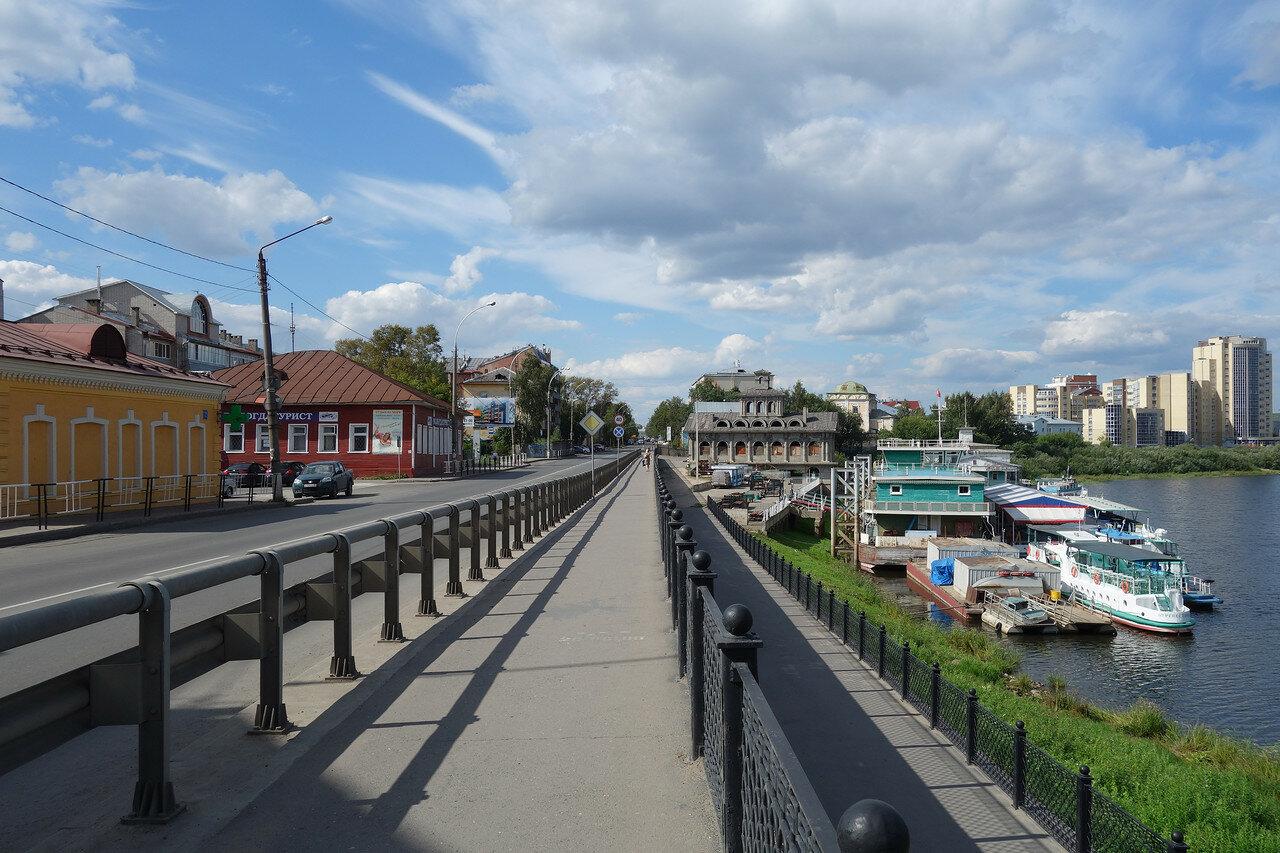 набережная, речной вокзал