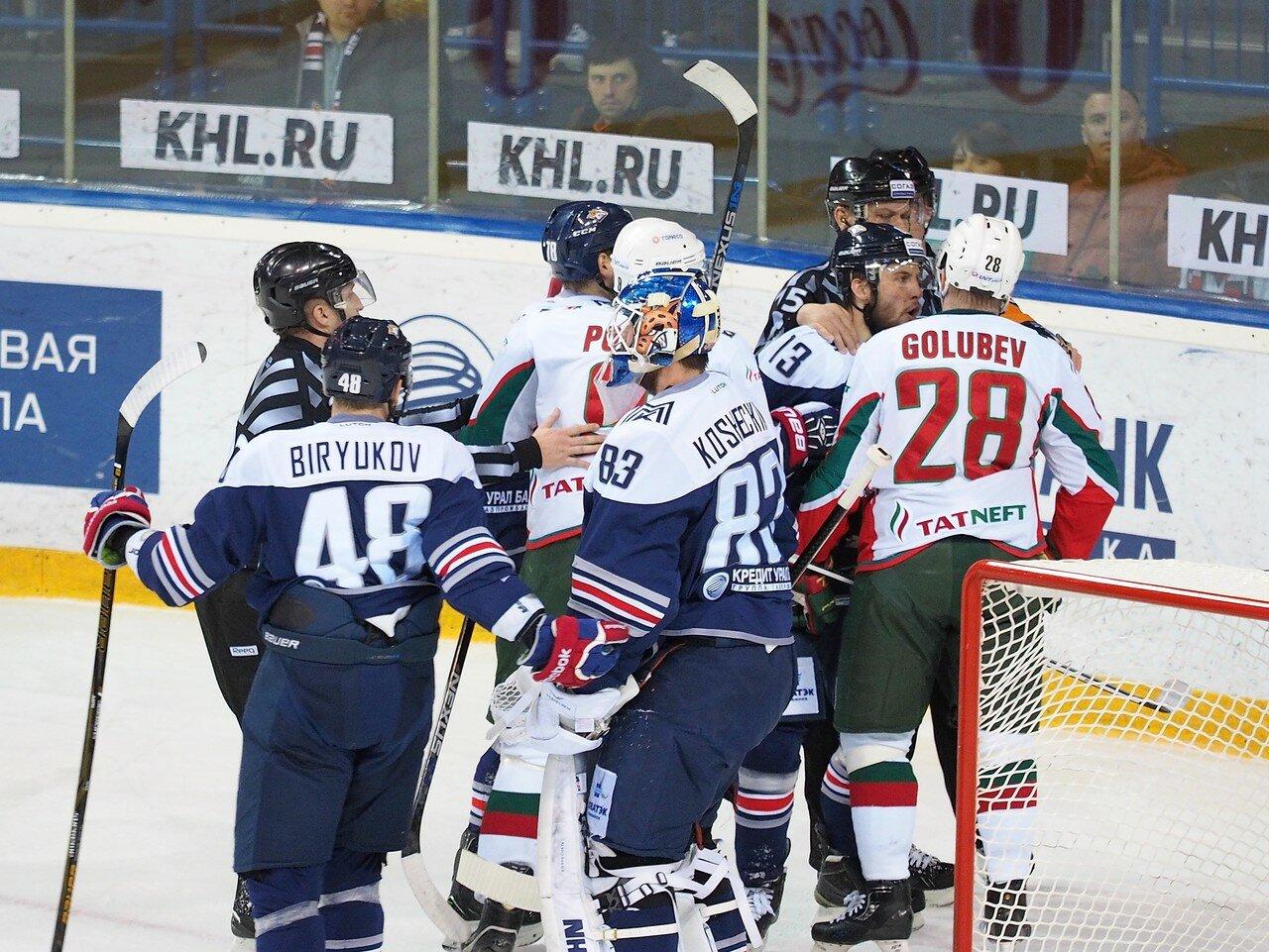 51 Первая игра финала плей-офф восточной конференции 2017 Металлург - АкБарс 24.03.2017