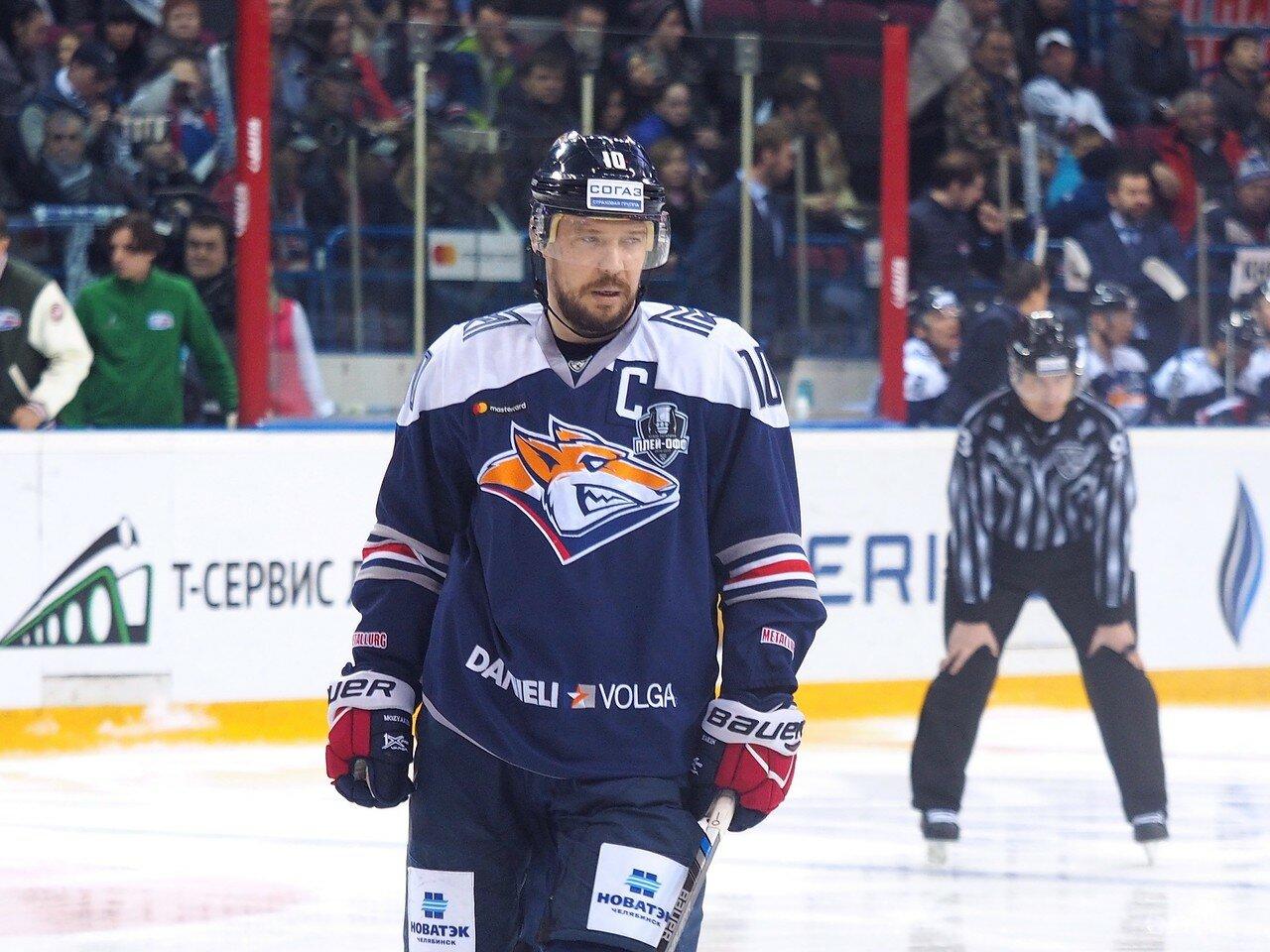126 Первая игра финала плей-офф восточной конференции 2017 Металлург - АкБарс 24.03.2017