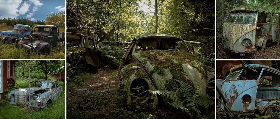 Редкие автомобили, гниющие на просторах Европы