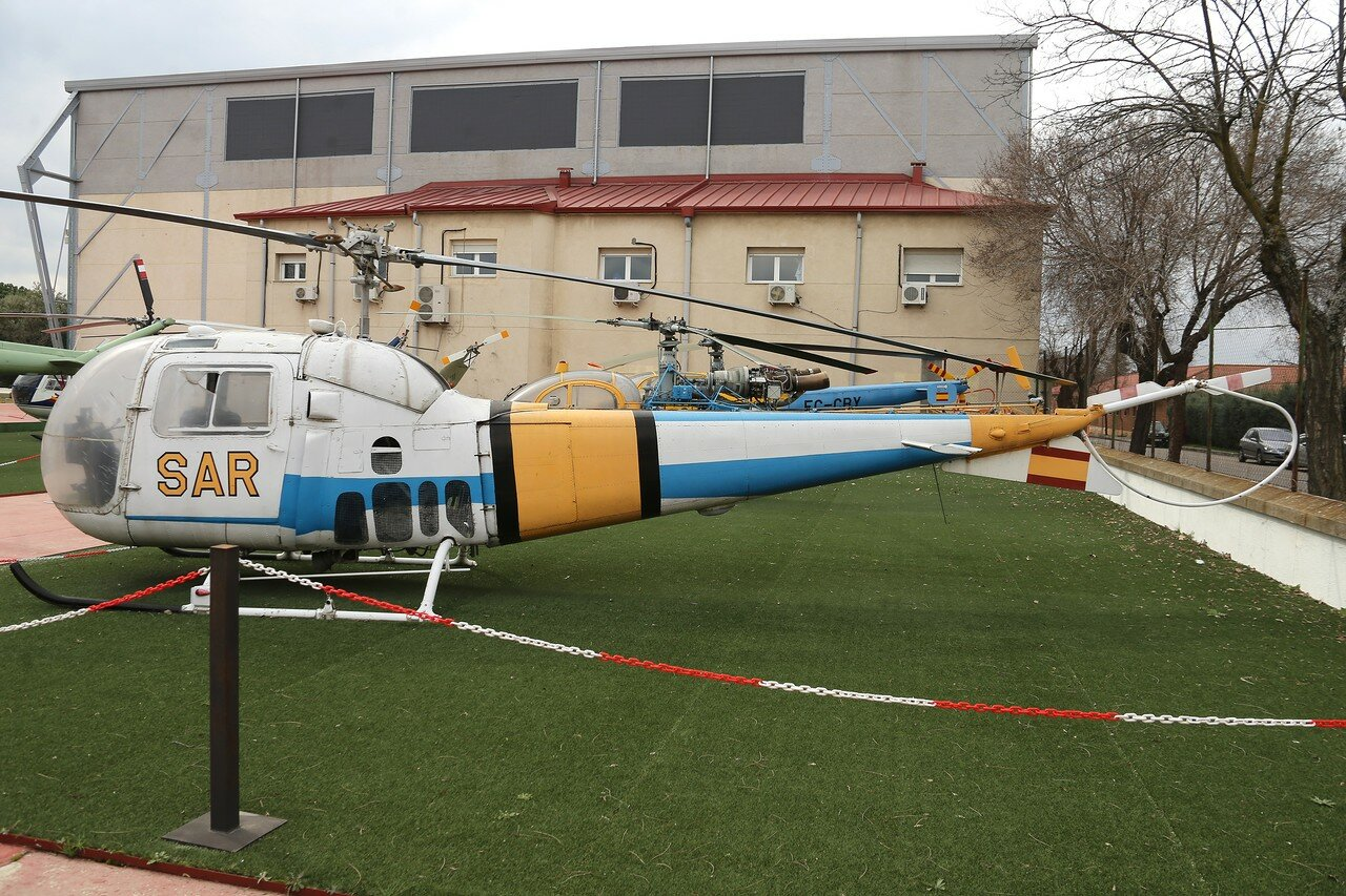 Agusta Bell 47 J3B-1 (Museo del Aire, Madrid)