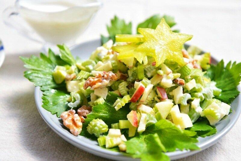 Новые рецепты салатов на 2017 год