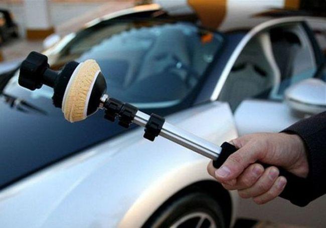 Щетка для чистки стекла за 50 тысяч баксов от Bugatti (3 фото)