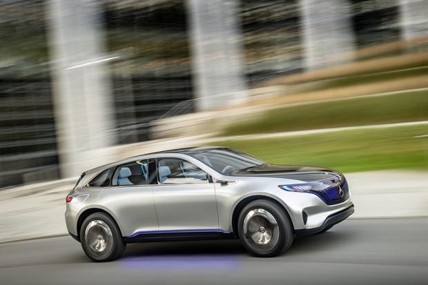 Mercedes-Benz Generation EQ Mercedes-Benz представил в Париже новый суббренд под названием EQ. Это с