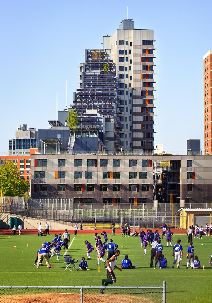 Via Verde - живописный жилой комплекс в Бронксе