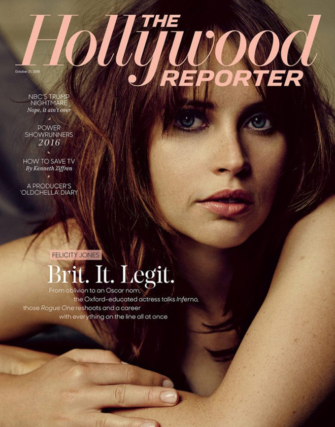 Фелисити Джонс в The Hollywood Reporter