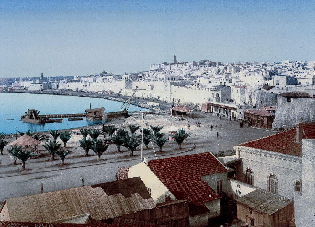 Вид на Тунис из отеля