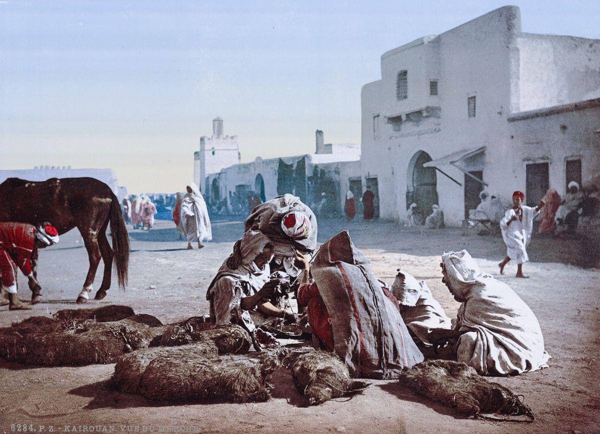 Рынок в Кайруане.