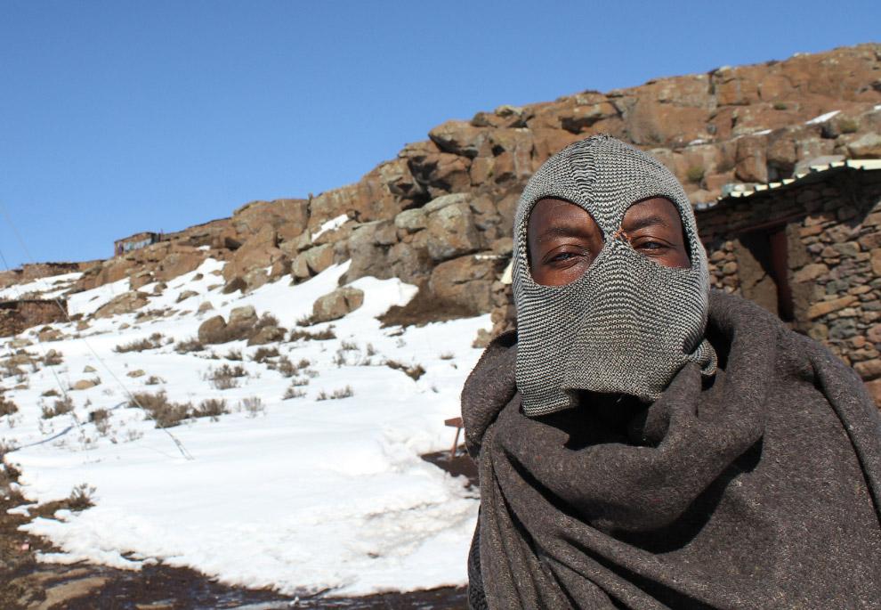 Пейзажи королевства Лесото, 23 февраля 2013. (Фото Chris Jackson | Getty Images):