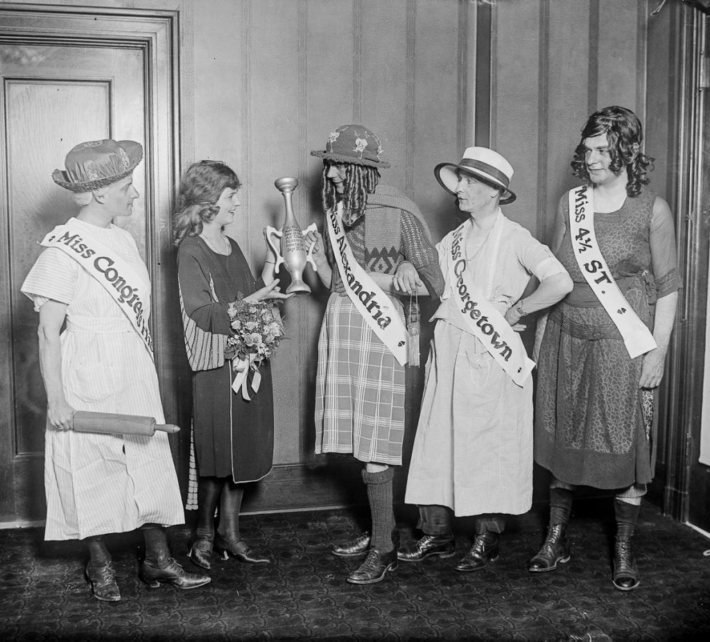 Первая Мисс Америка