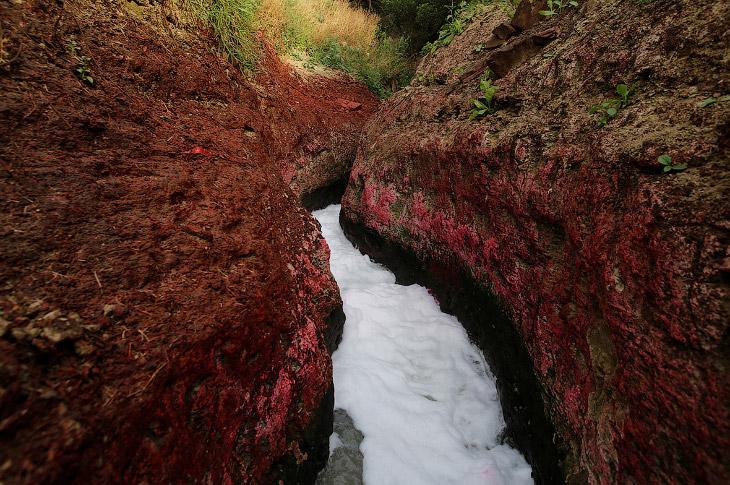 Этой реке поклоняется почти миллиард индусов. Она является основным источником воды для 400 мил
