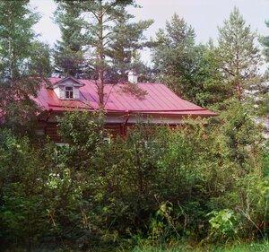 Скит Иоанна Богослова Крестик. Леушинский монастырь. 1909 год