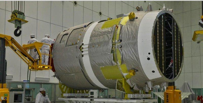 Старт первого китайского космического фургона «Тяньчжоу-1» запланирован на апрель