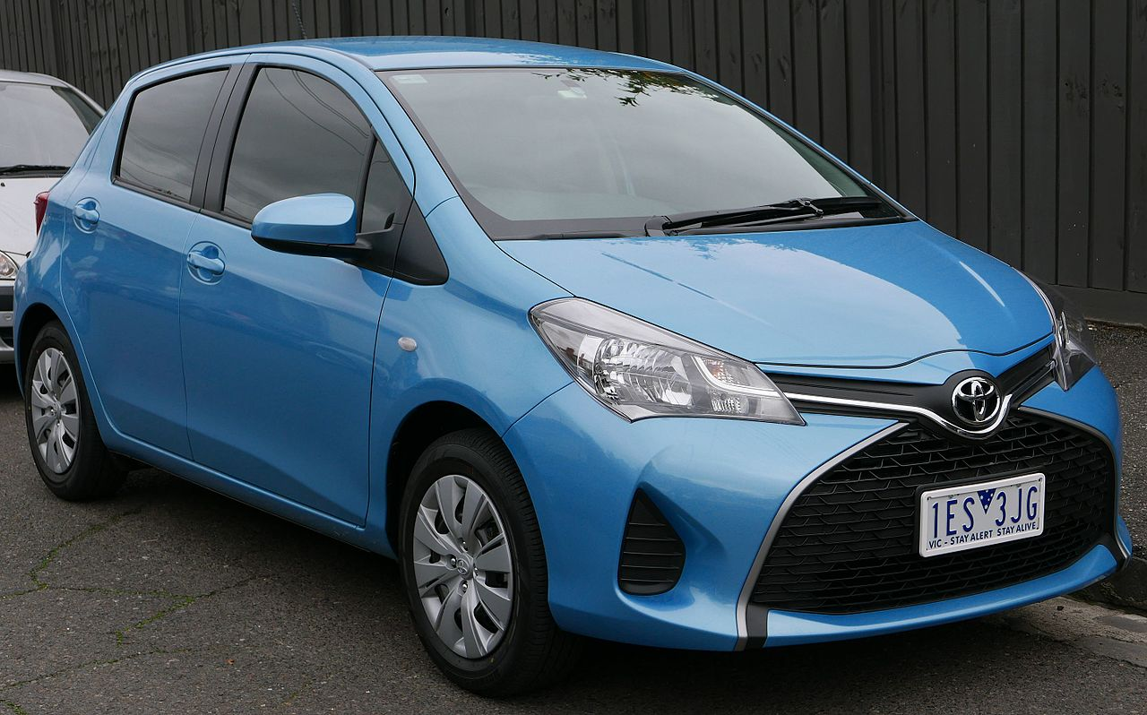 Автомобиль Тоёта Yaris поступил напродажу на автомобильном рынке Украинского государства