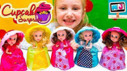 Кукла-кекс «Cupcake»