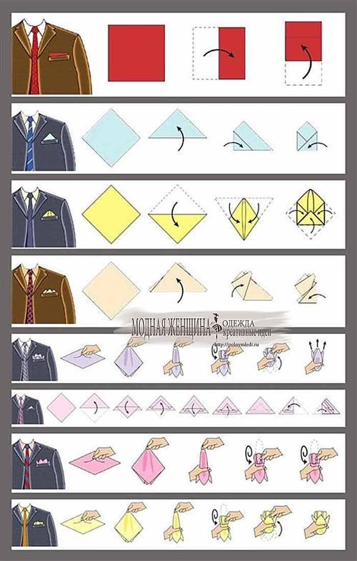 Как правильно сложить платок в пиджак.jpg