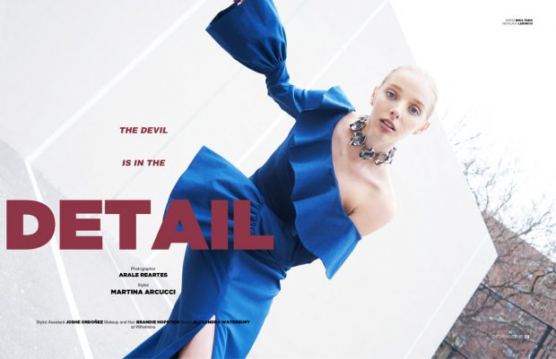 The Devil Is In The Detail by Arale Reartes for Design SCENE Magazine