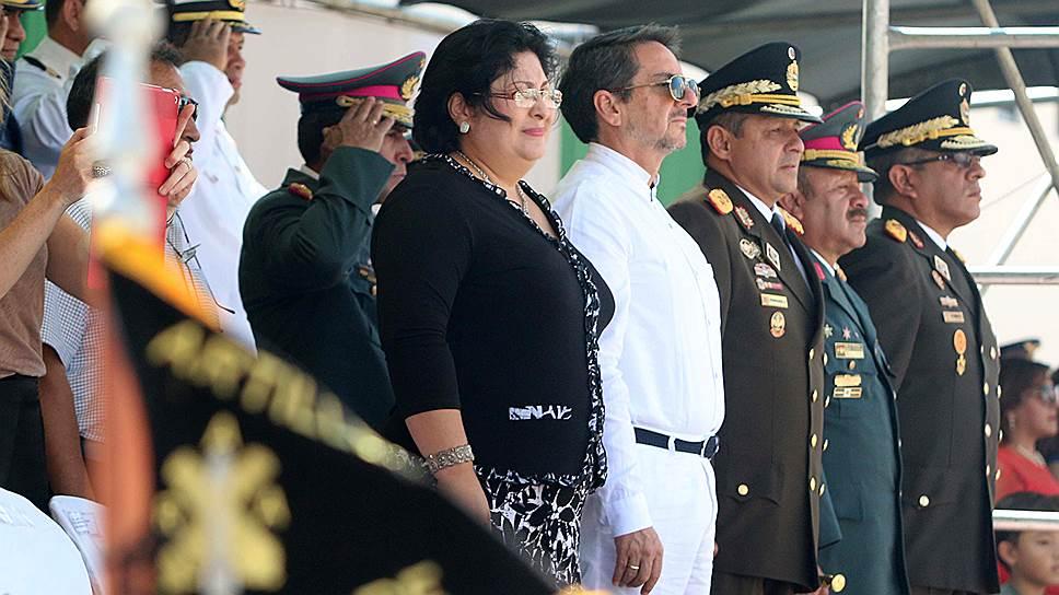 Марта Элена Руис Севилья возглавила министерство обороны Никарагуа 4 марта 2013 года