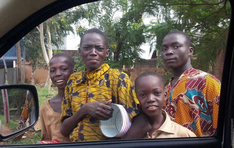 Попрошайничество в Мали