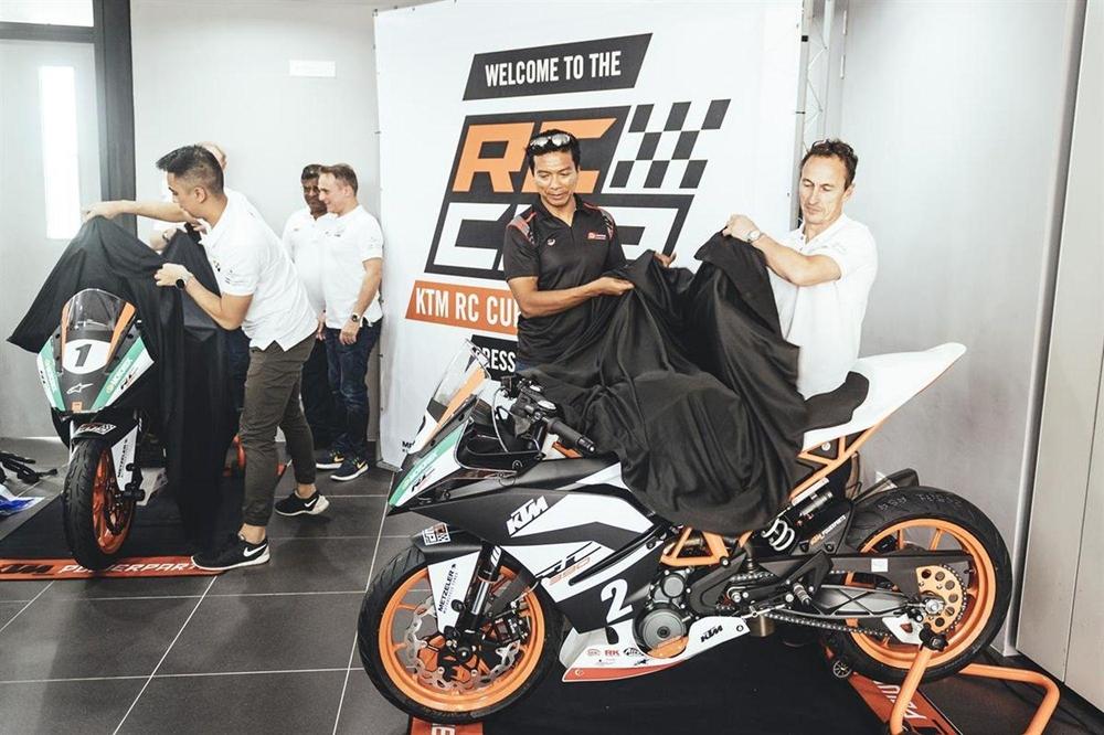 KTM организуют соревнования KTM RC 2017 в Азии