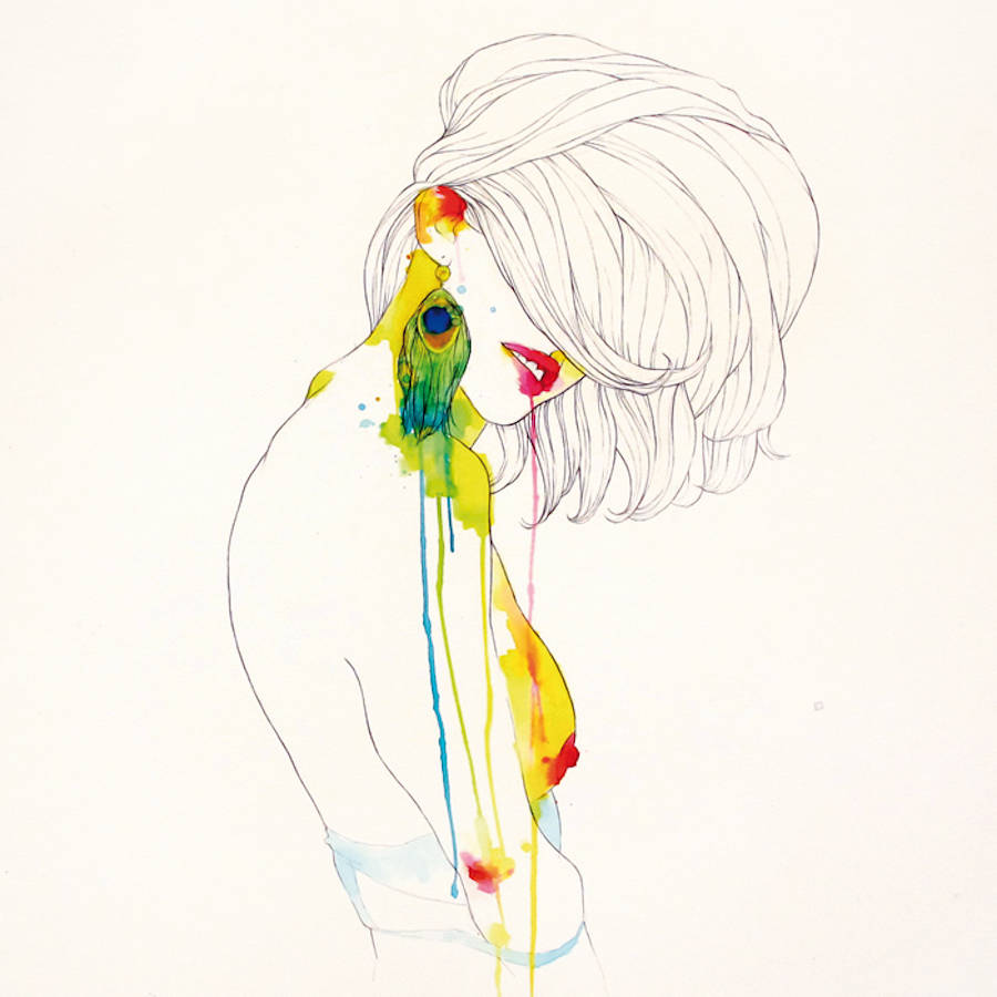 Conrad Roset's Fragile Watercolor Muses