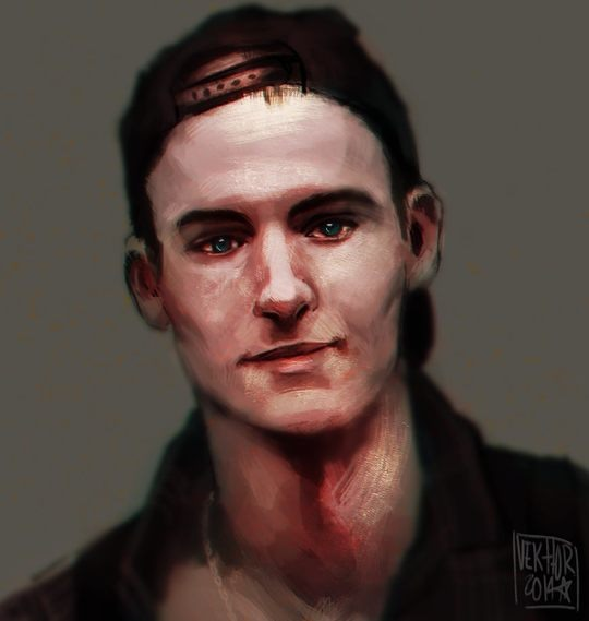 Digital Portraits by Victor Pena