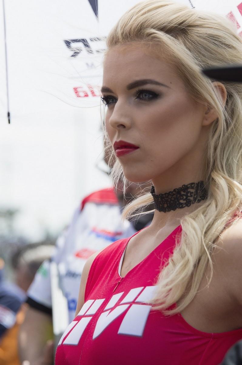 Девушки паддока Гран При Ле-Мана 2017