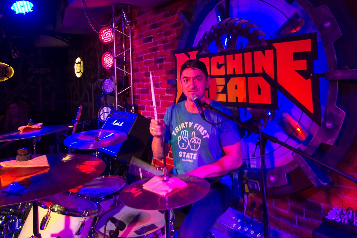 концерт группы Кирпичи, Machine Head 04.11.2016 фото 8
