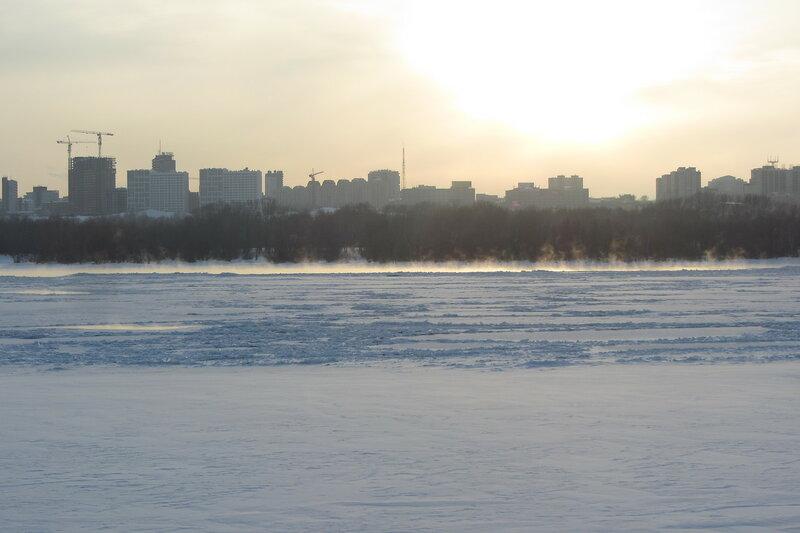 -25 Обь не замерзает