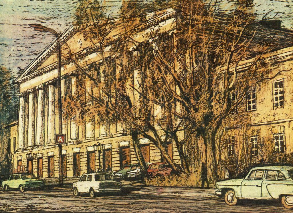587137 Страстной бульвар. Бывшая Ново-Екатерининская больница.jpg