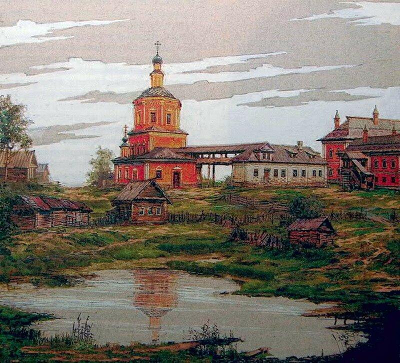 А вот ещё немного средневековой Москвы