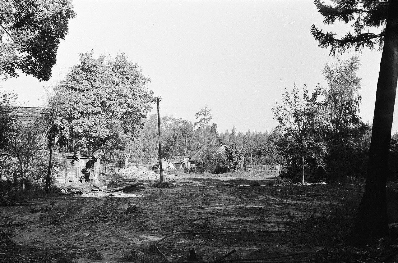 1973. Снос дома №1 по 6-му Лучевому