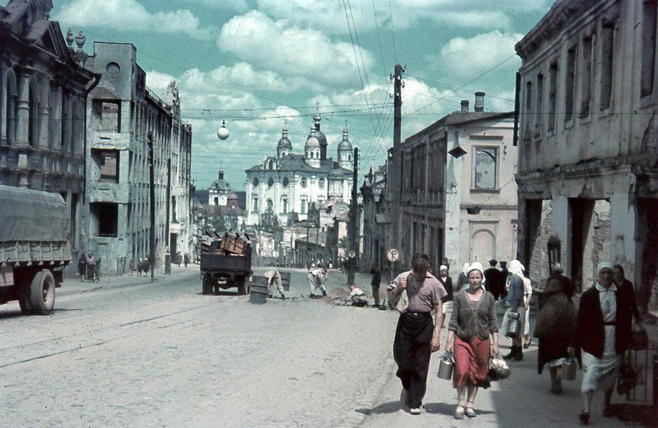 1942. Улица Большая Советская