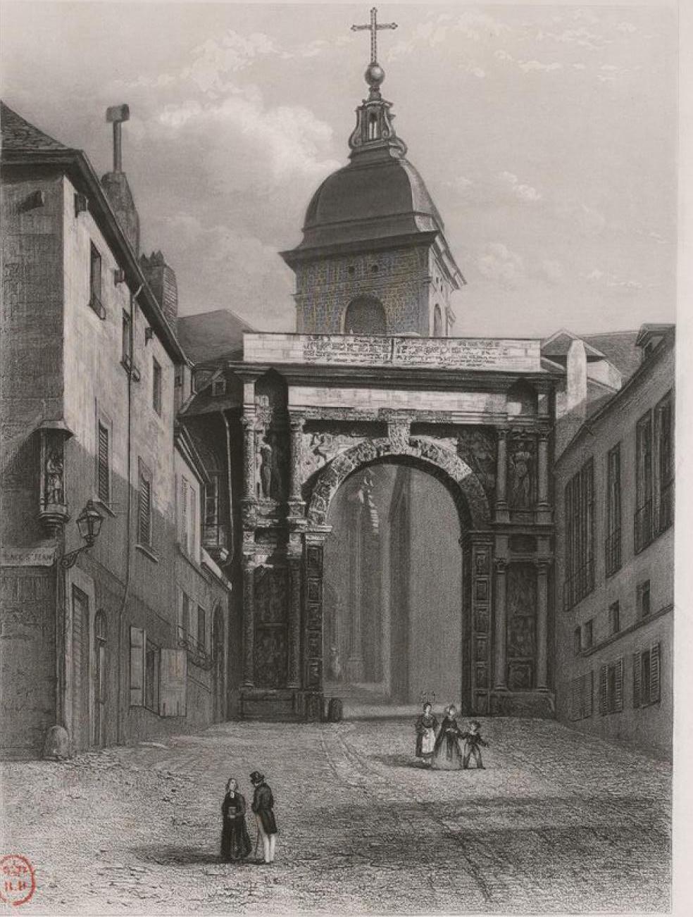 Франция. Безансон. Черные ворота