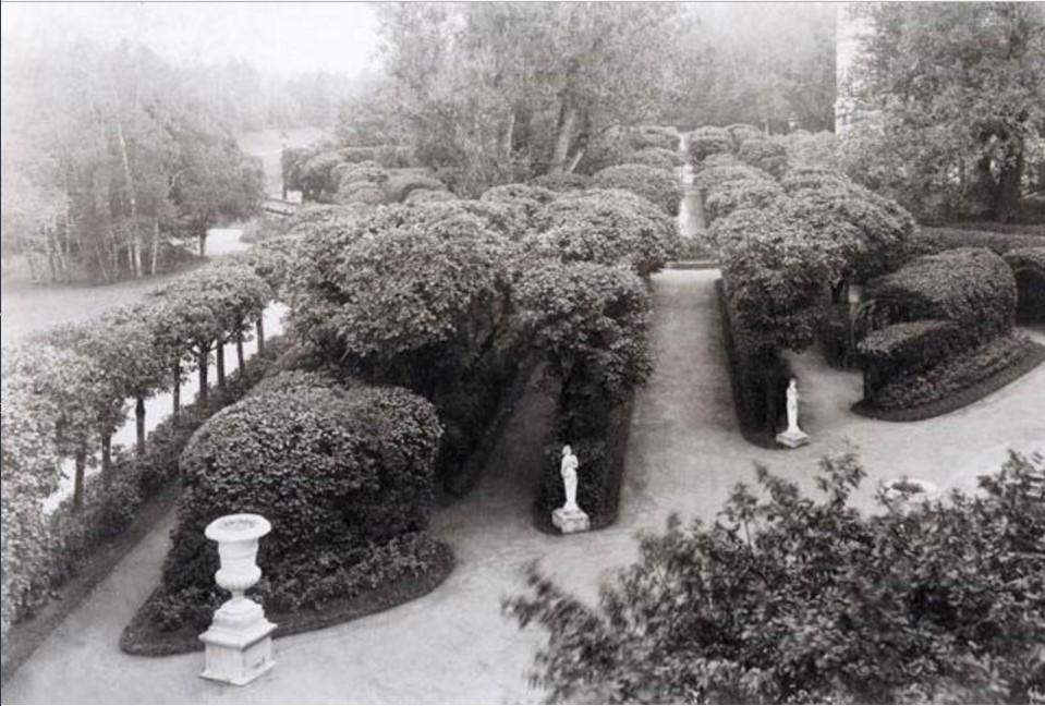 Гатчинский дворец. Собственный садик. 1891