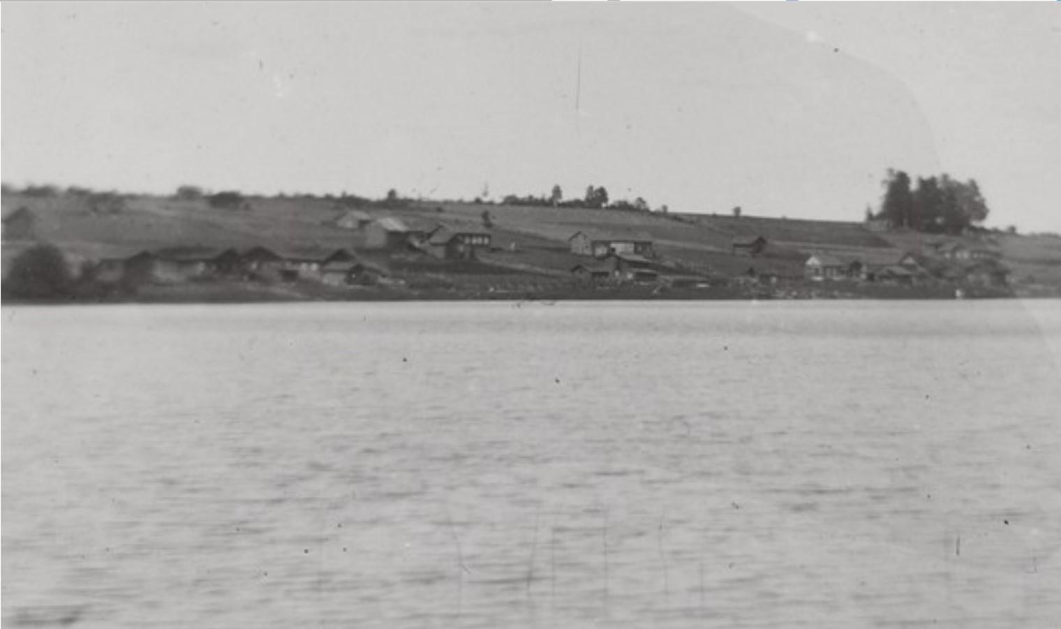 Суоярви. Вид села