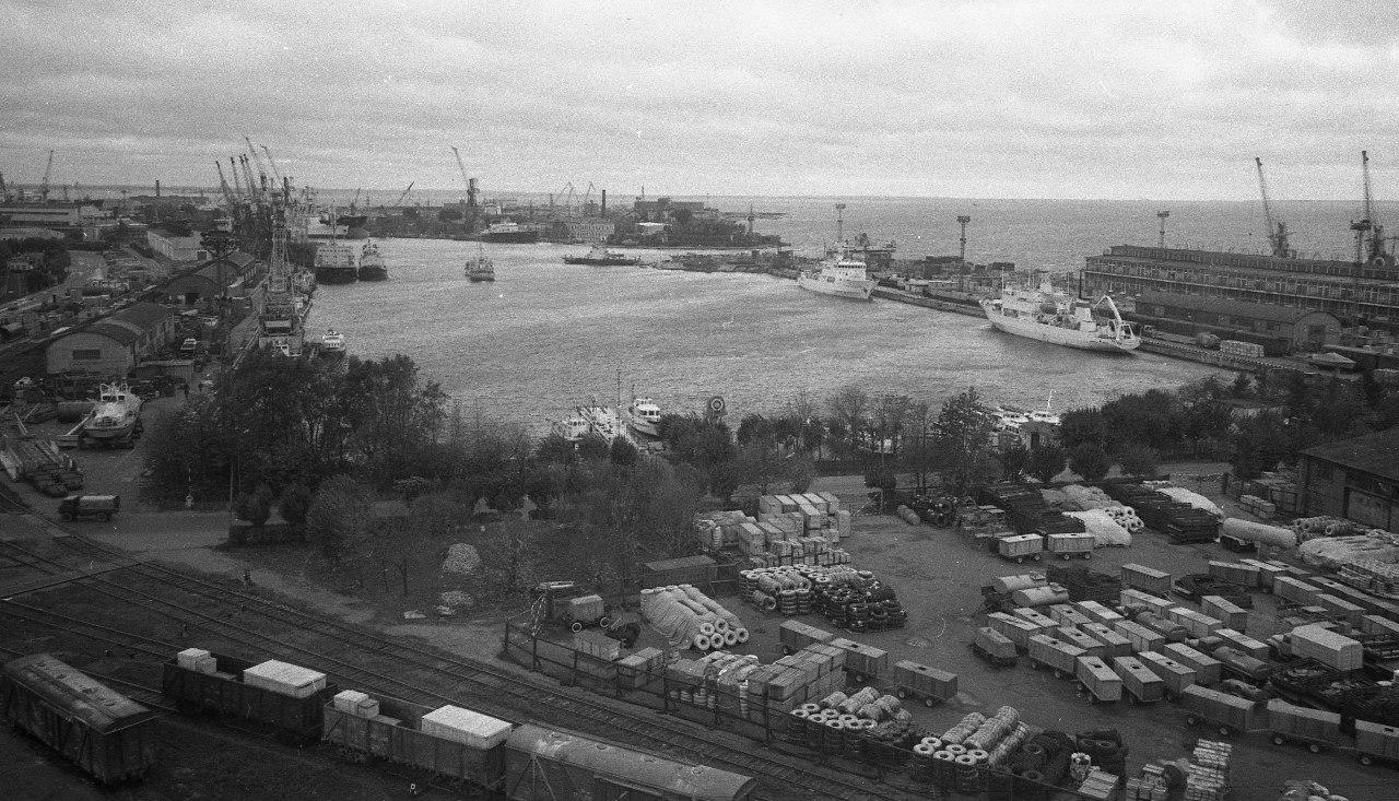 1970-е. Морской порт