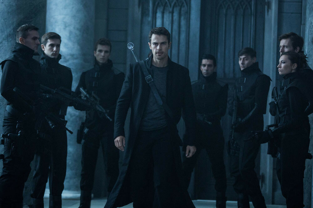 Theo James stars in Screen Gems' UNDERWORLD: BLOOD WARS.