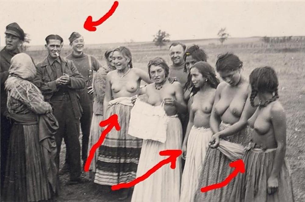 Эротические фото немецких проституток времен второй мировой войны, кончил в нее студенты русское