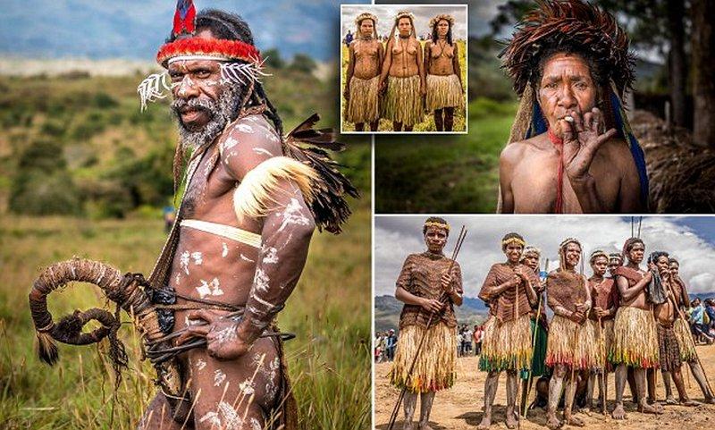 Племя Дани из Западной Новой Гвинеи