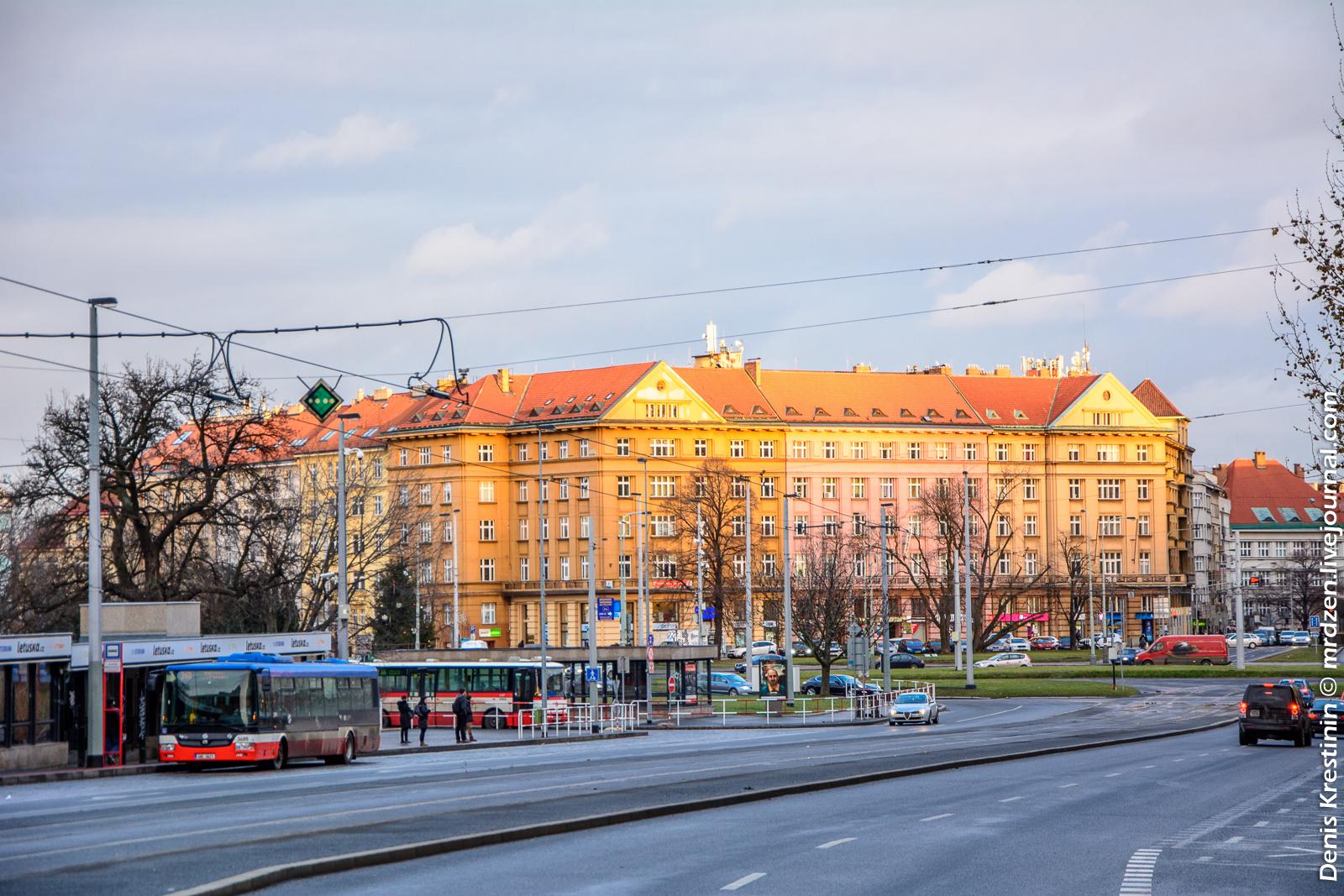 Прага 6, улица Европска