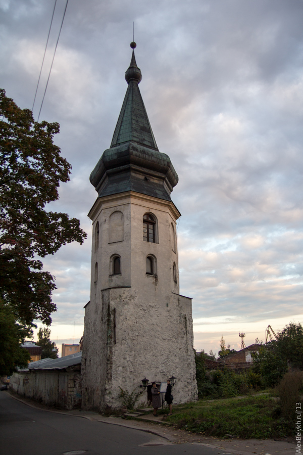 alexbelykh.ru, башня ратуши Выборг
