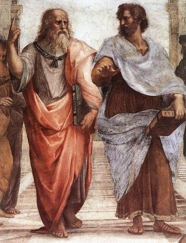 Платон и Аристотель на фреске Рафаэля.jpg